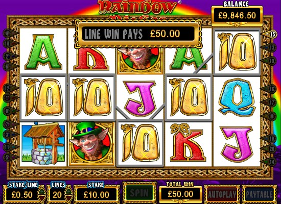 free rainbow riches slots online