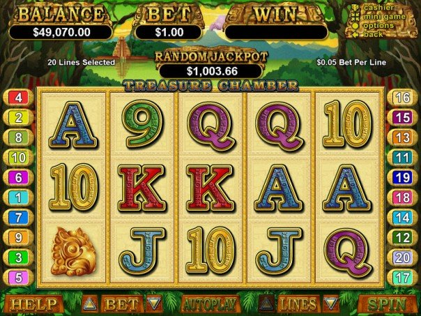 Treasure Chamber Slot Game
