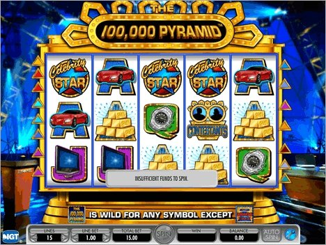 100000 Pyramid Slot Screenshot
