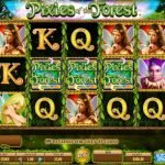 Screenshot image of the Pixies of the Forest Slot Game