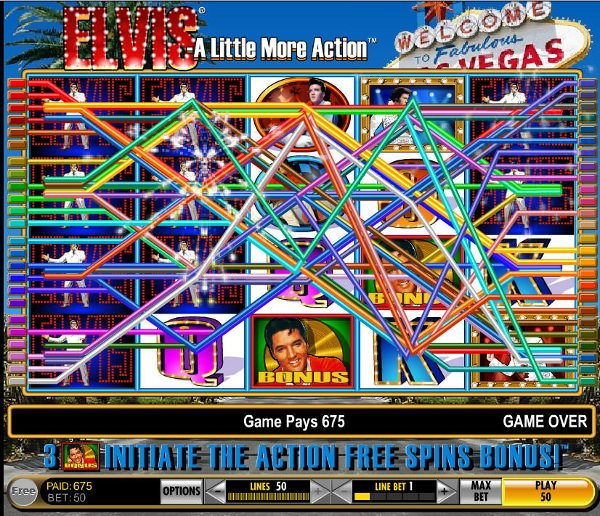 Elvis Slot Game Screenshoot