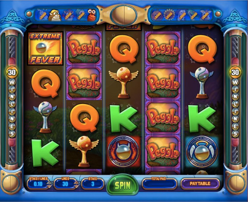 Screenshot image of the Peggle Master Bonus unlocked during play