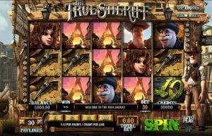 Screenshot image of The True Sheriff Slot Game