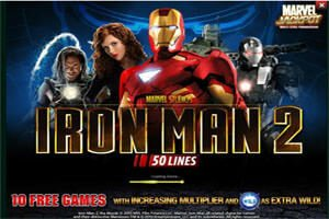 Screenshot image of Iron Man 2 slot loading screen