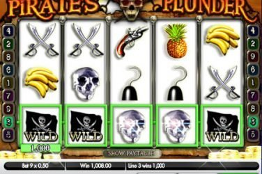 Pirate's Plunder slot from Gamesys