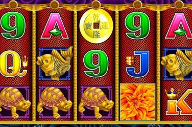 Header image for the review page of 5 Dragons slot game from Aristocrat