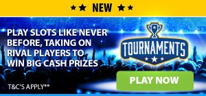 Promotional image of the BGO Casino vegas slots tournaments