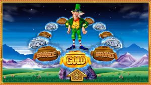 Image of the Pots of Gold review slots game