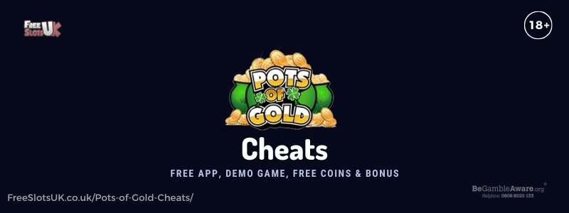 Banner image for the Rainbow Riches Pots of Gold Cheats review