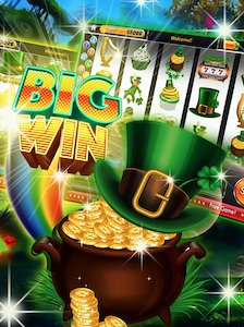 Rainbow Riches slots app from the Google PlayStore