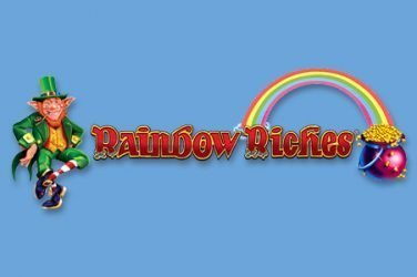 Header image of the Rainbow Riches slot review