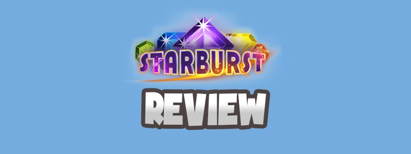 Header image for the Starburst slot review hd
