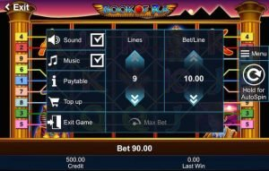 book ra slot max bet