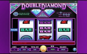 double diamond slot bar win100