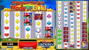 rainbow riches reel of gold slot