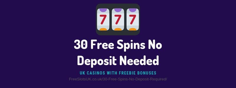 Free Spins With No Deposit