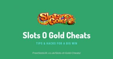 "Header image of the Slots Of Gold Cheats review showing the game's logo image and the text: ""Slots O Gold Cheats - Tips and hacks for a big win"""