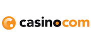 Transparent image logo of casino com