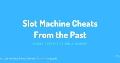 Slot machine cheats from the past - cheeky punters to win a jackpot