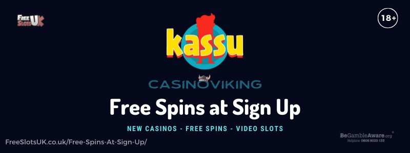 Banner image for the Free Spins at Sign Up article review