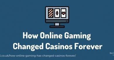 How online gaming has changed casinos forever.